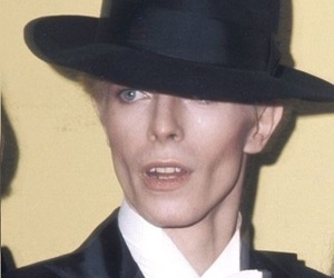 70s, david bowie, and thin white duke image