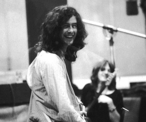 led zeppelin, jimmy page, and music image