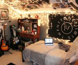 bedroom, room, and twenty one pilots image