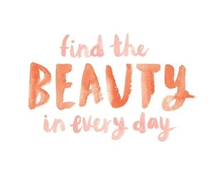 beauty and quote image