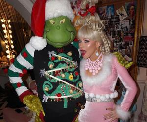 christmas, costume, and christina aguilera image