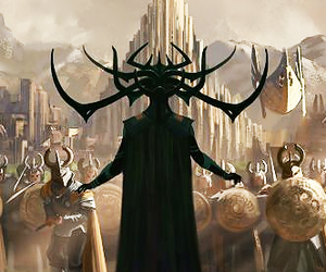 cate blanchett, Marvel, and hela image