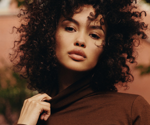 beauty, curly, and model image