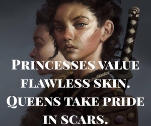quotes, scars, and motivation image