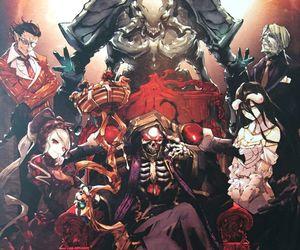 anime, overlord, and momonga image