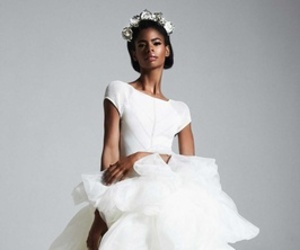 ball gown, fashion, and bridal look image