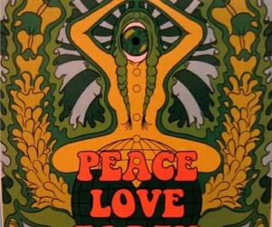 peace, love, and earth image