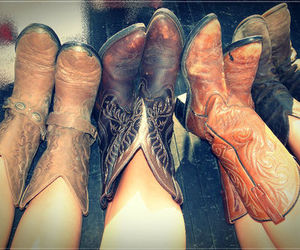 boots and Cowgirl image