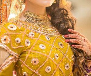bride, hindi, and shaadi image
