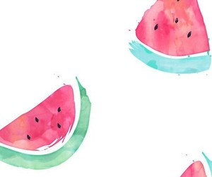 wallpaper, background, and watermelon image