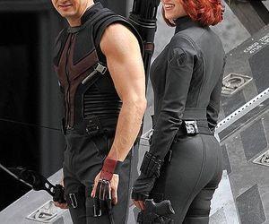 black widow, Marvel, and Scarlett Johansson image