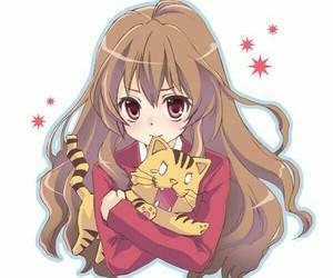 toradora, Taiga, and anime image