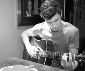 guitar, cute, and shawn mendes image