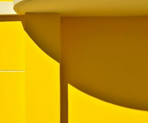 architecture, yellow, and color blocking image