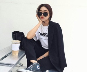 aesthetic, edgy, and fashion image