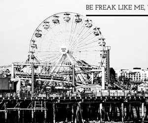 b&w, freak, and quotes image