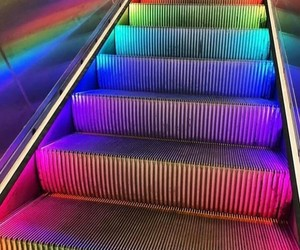 aesthetics, fluorescent, and colour image