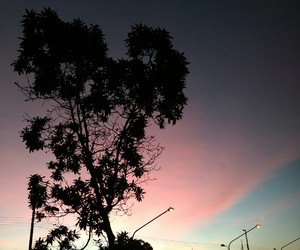 sky, colors, and pink image