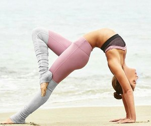 yoga, fitness, and goals image