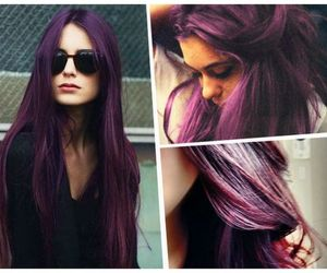 purple hair image