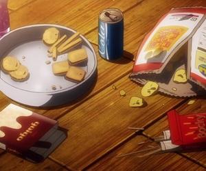 pocky, snacks, and anime food image