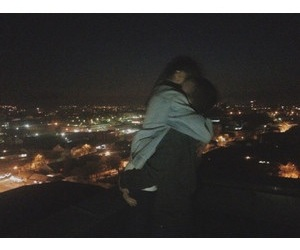 cute couple, cute, and relationship goals image