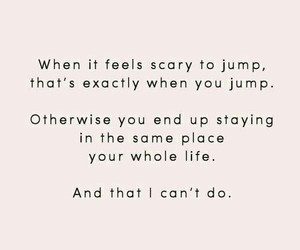 quotes, scary, and life image
