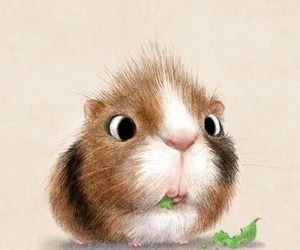art and hamster image