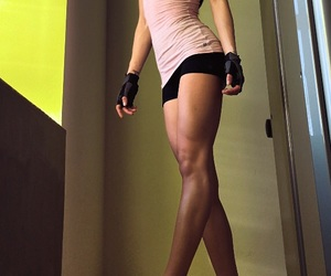 fitness, weight, and squats image