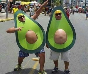 avocado, funny, and costume image