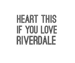 riverdale and heart this image