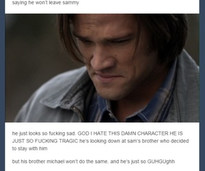 lucifer, supernatural, and dean winchester image