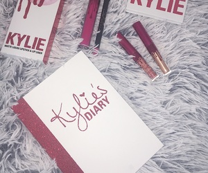 makeup, red, and kyliejenner image