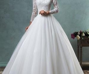 wedding dress. image