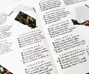 bujo, bullet journal, and bullet journaling image