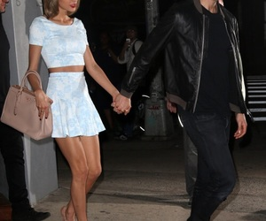 Taylor Swift, calvin harris, and style image