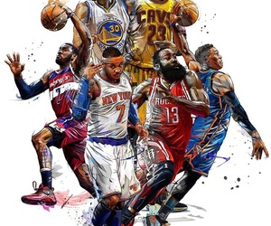 Basketball, NBA, and players image