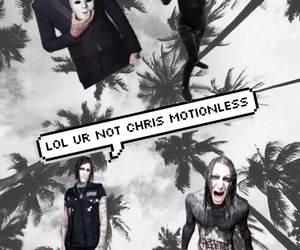 falling in reverse, motionless in white, and chris motionless image