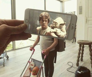 funny, iphone, and LUke image
