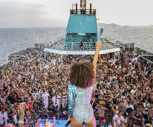 ibiza, spain, and yacht party image
