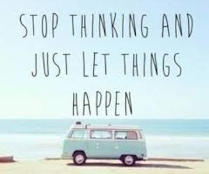 quotes, beach, and life image