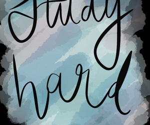 brush, cursive, and lettering image