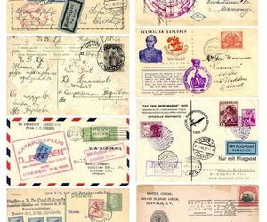 postales, estampilla, and ephemeras image