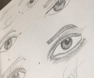art, Augen, and auge image