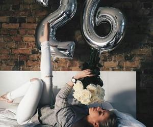 fashion, girl, and birthday image