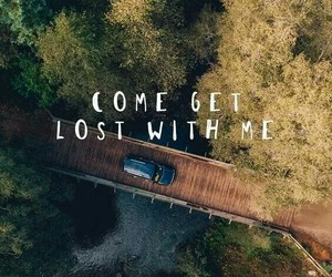 car, lost, and love image