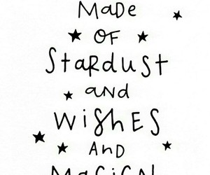 magic, stardust, and stars image