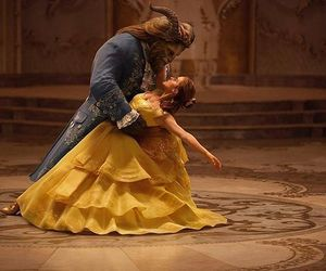 disney, beauty and the beast, and emma watson image
