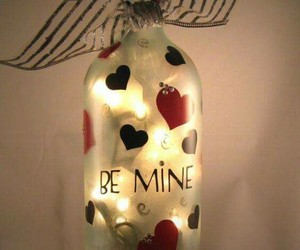 be mine, love, and botle image