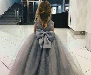 dress, kids, and baby image
